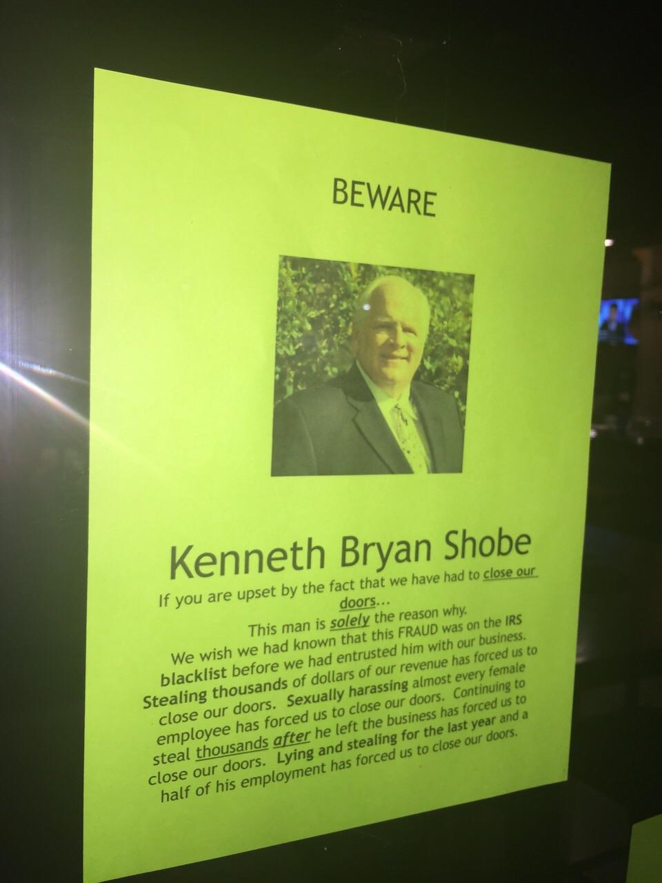 Criminal Bryan Shobe Bradenton Florida US